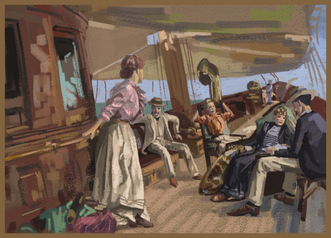 a master study painting