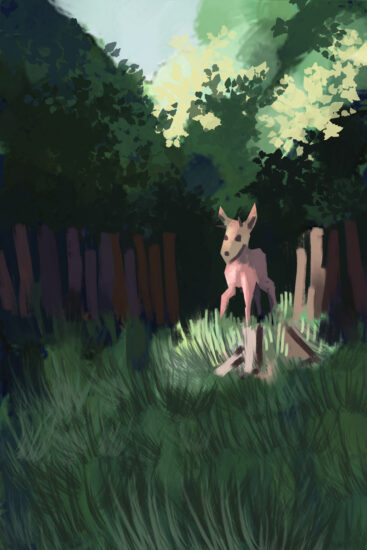 A speed painting