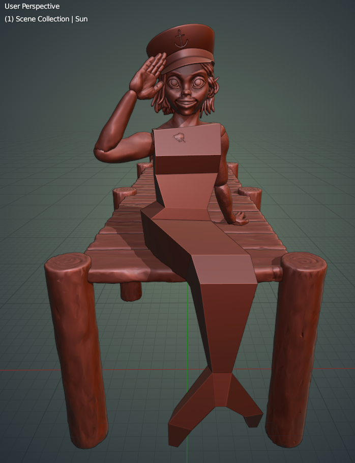A Digital Sculpt