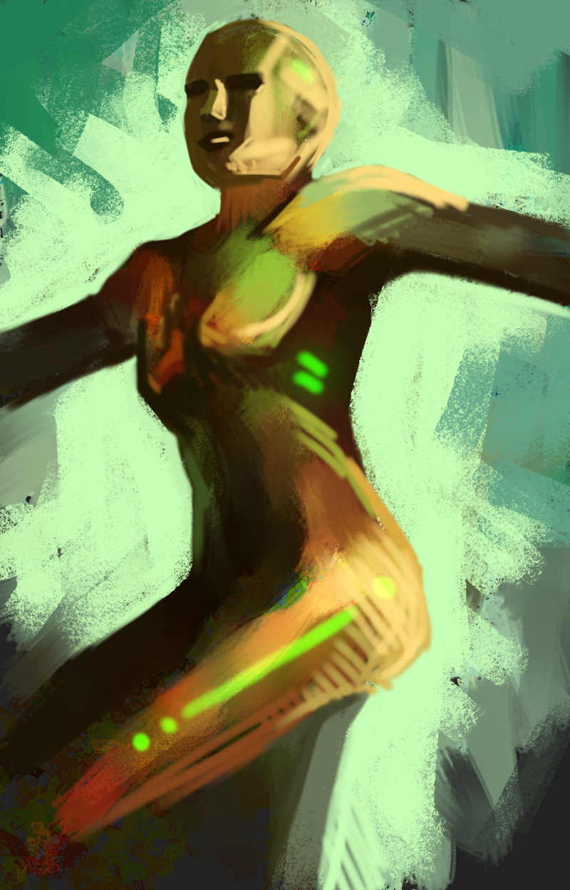 A DSP speed painting